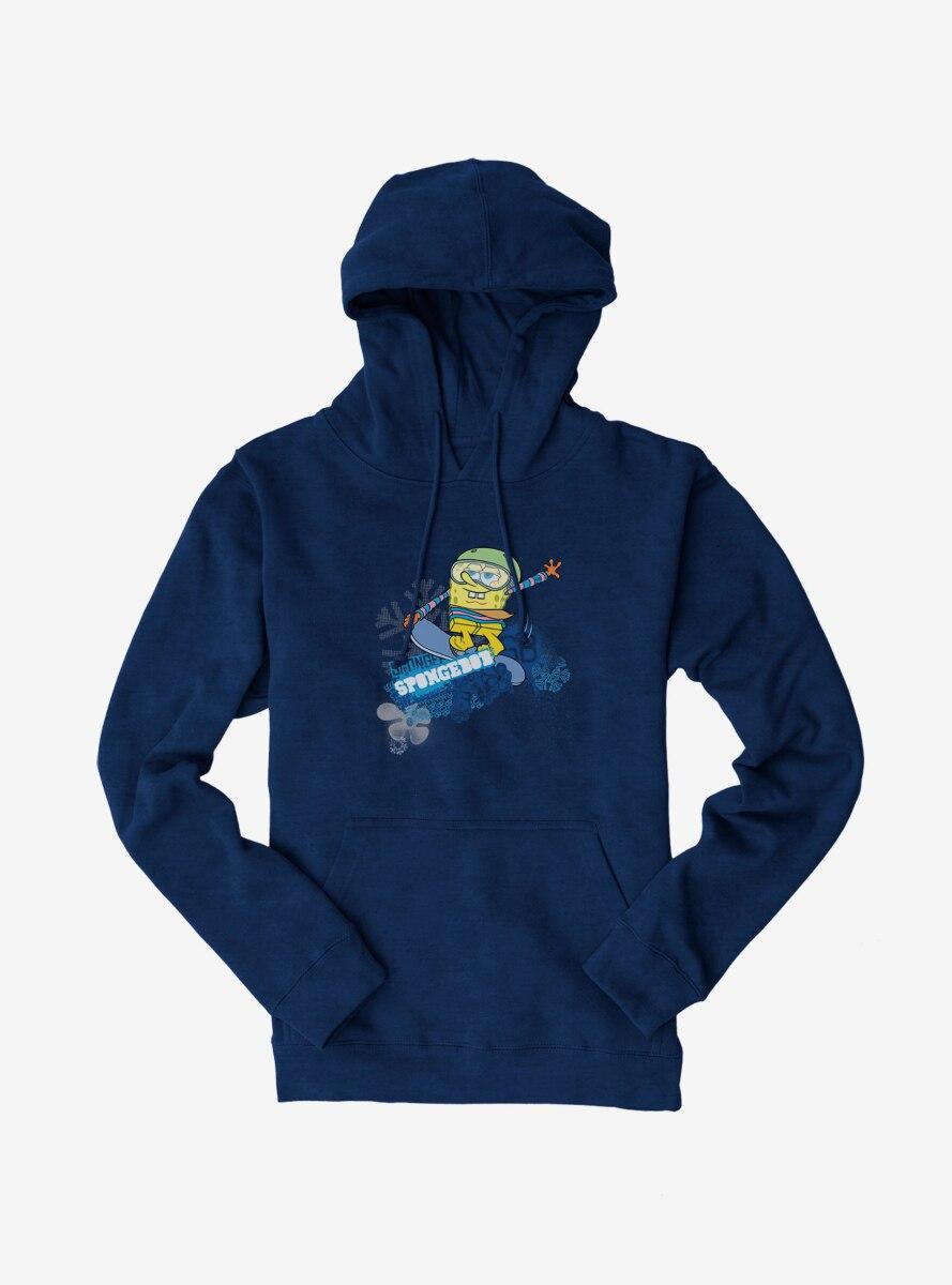 SpongeBob SquarePants Sports Snowboard Tricks Hoodie