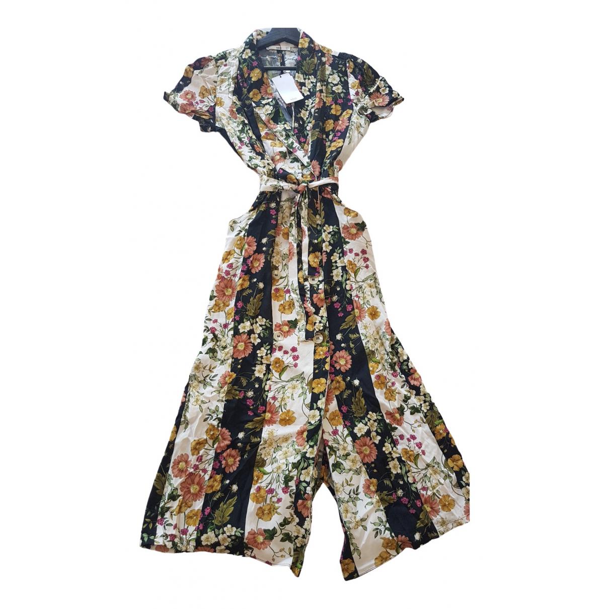 Mango \N Kleid in  Bunt Synthetik