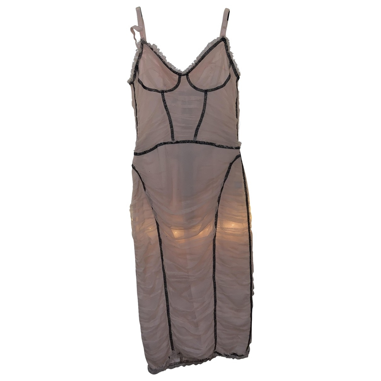 D&g \N Pink Lace dress for Women 40 FR