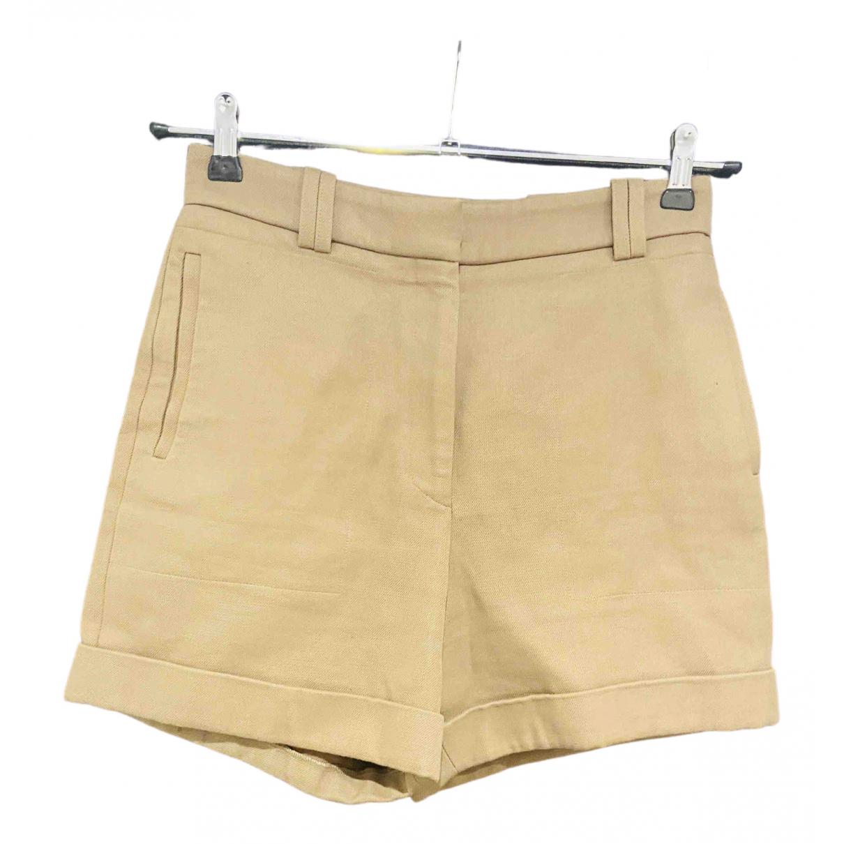 Stella Mccartney - Short   pour femme en coton - beige