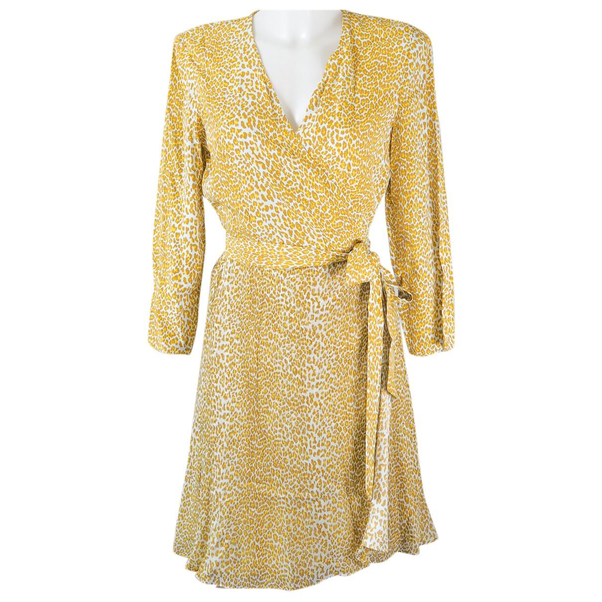 Diane Von Furstenberg N Yellow dress for Women M International
