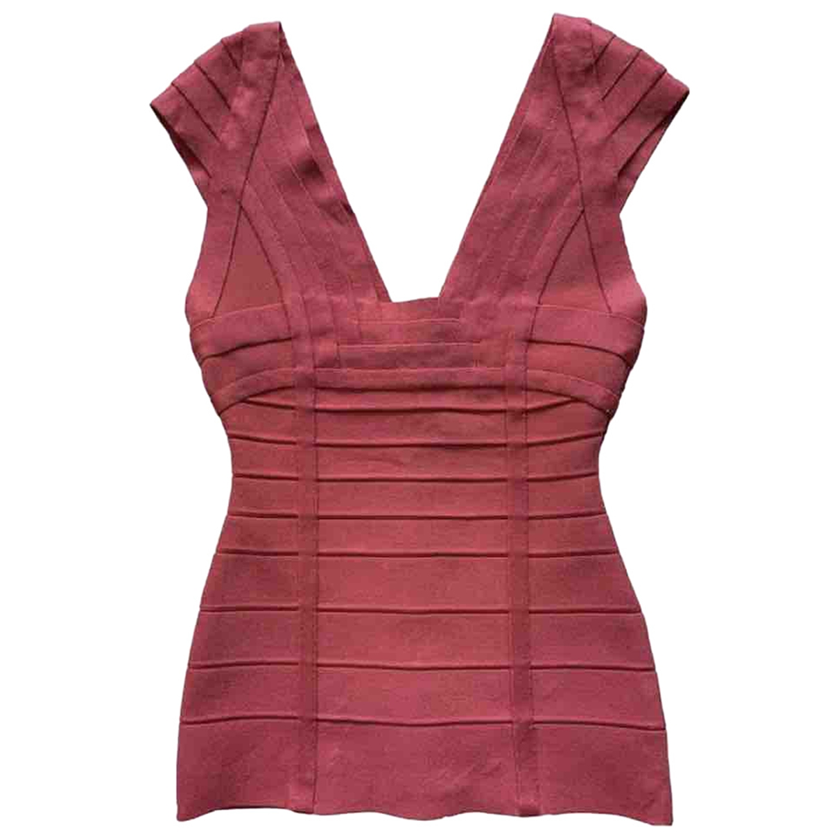 Herve Leger \N Pink  top for Women XS International