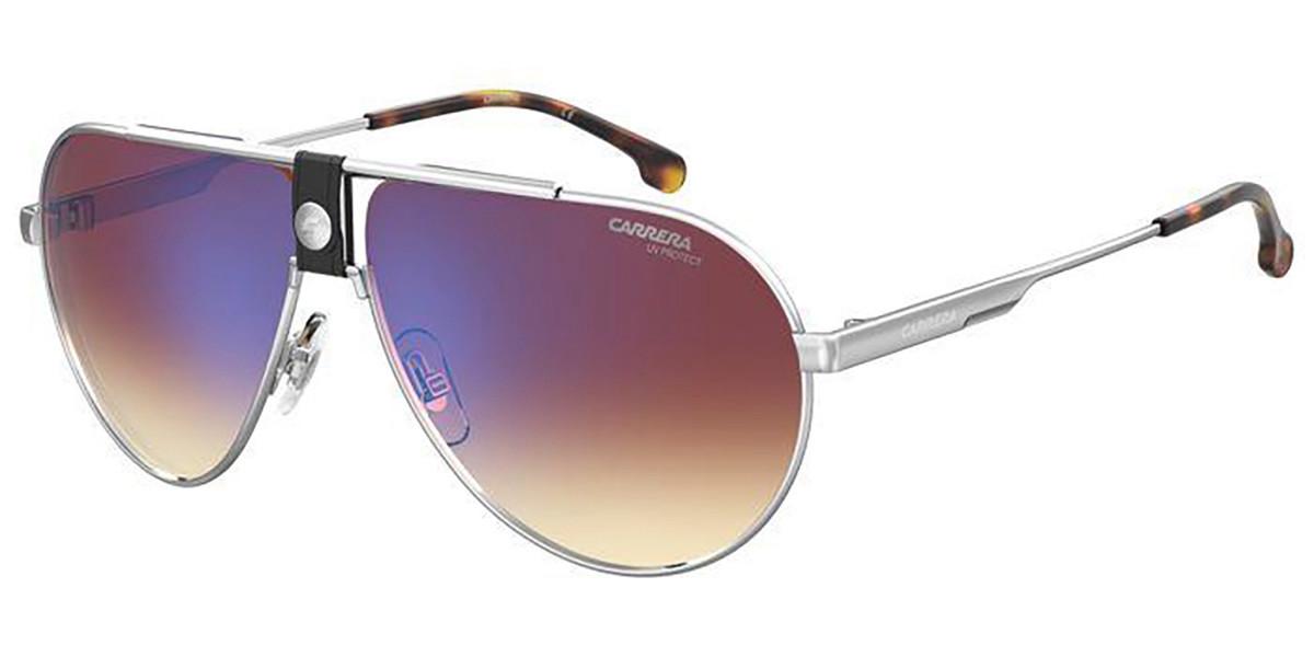 Carrera 1033/S 010/A8 Men's Sunglasses Silver Size 63