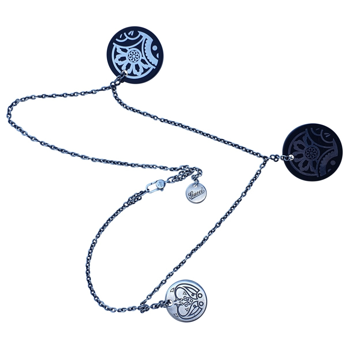 Gucci \N Anhaenger in  Silber Silber
