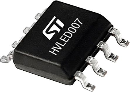 STMicroelectronics HVLED007TR, LED Display Driver, 10.5 → 22.5 V, 8-Pin SOIC (2500)