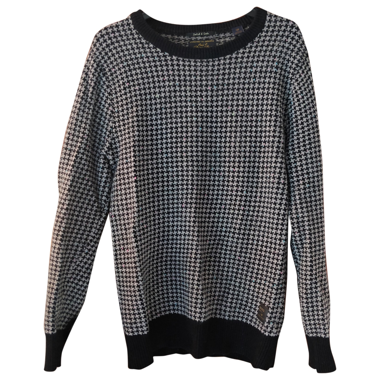 Scotch & Soda \N Pullover.Westen.Sweatshirts  in  Grau Wolle