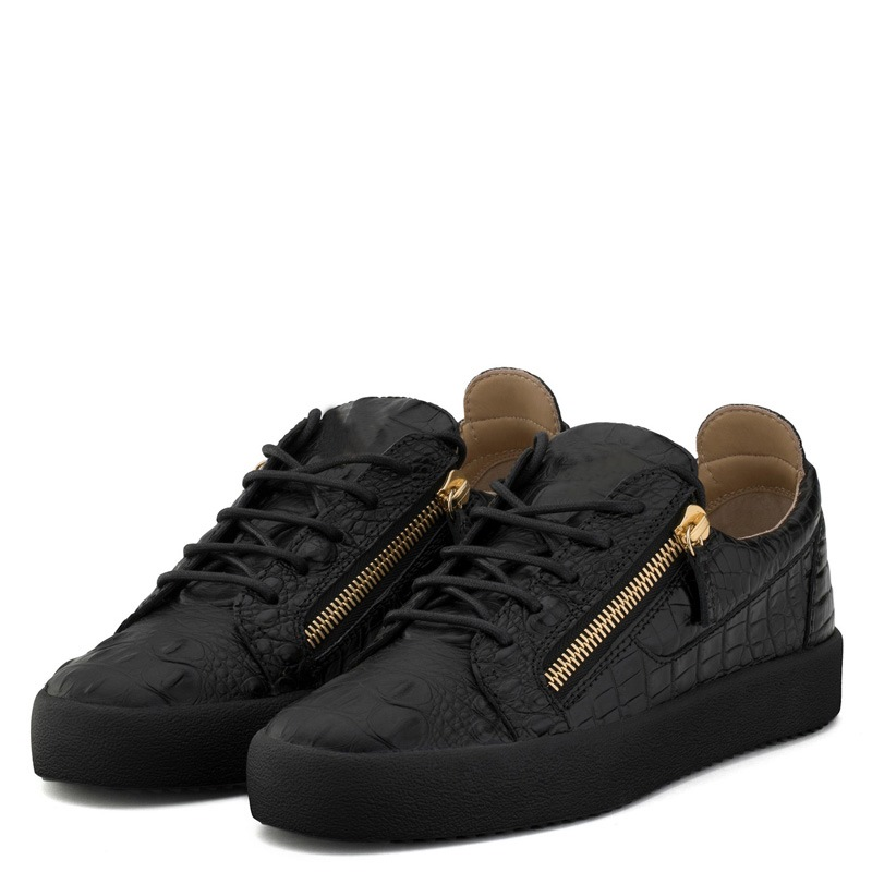 Ericdress Zipper Plain Lace-Up Men's Casual Shoes