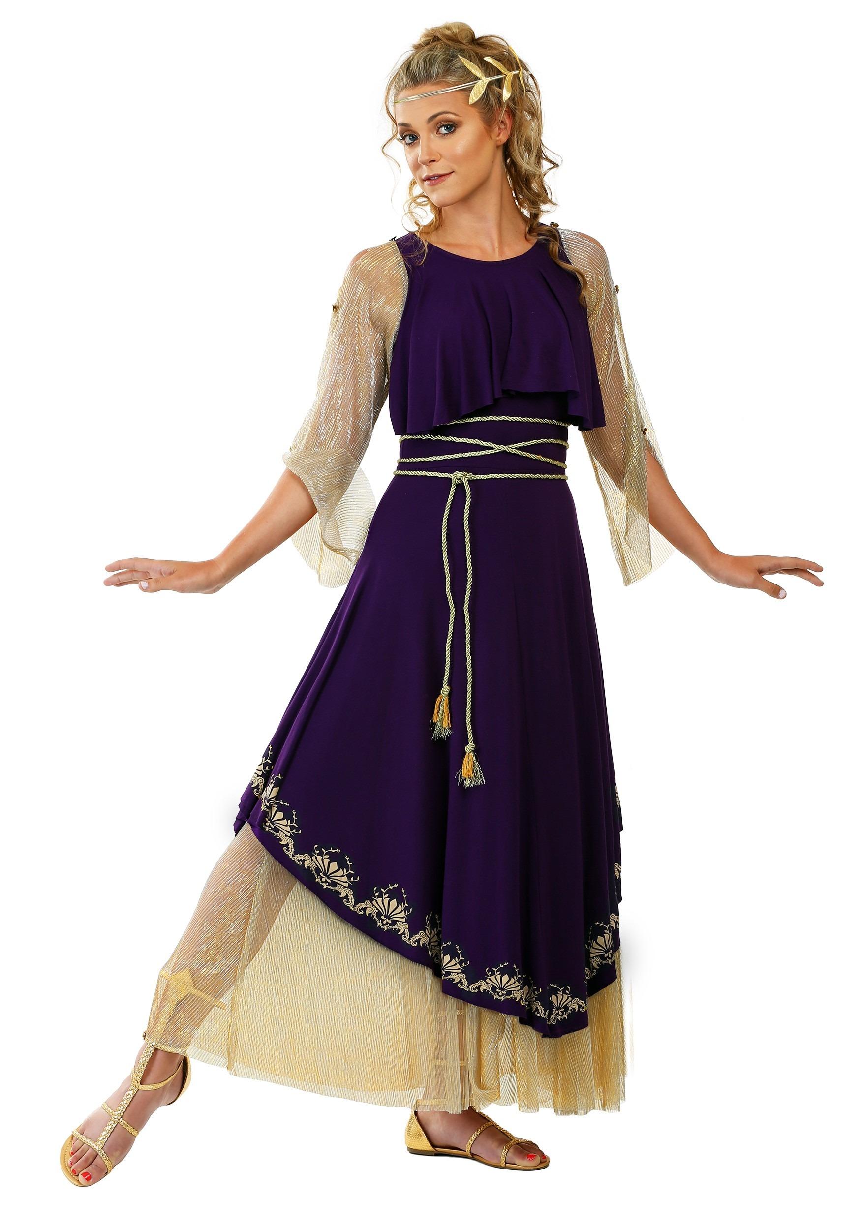 Aphrodite Goddess Costume for Women
