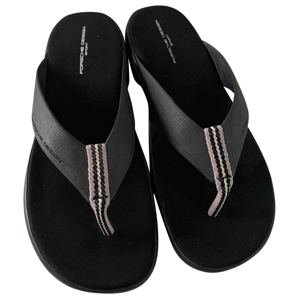 Porsche Design \N Black Sandals for Men 43.5 EU