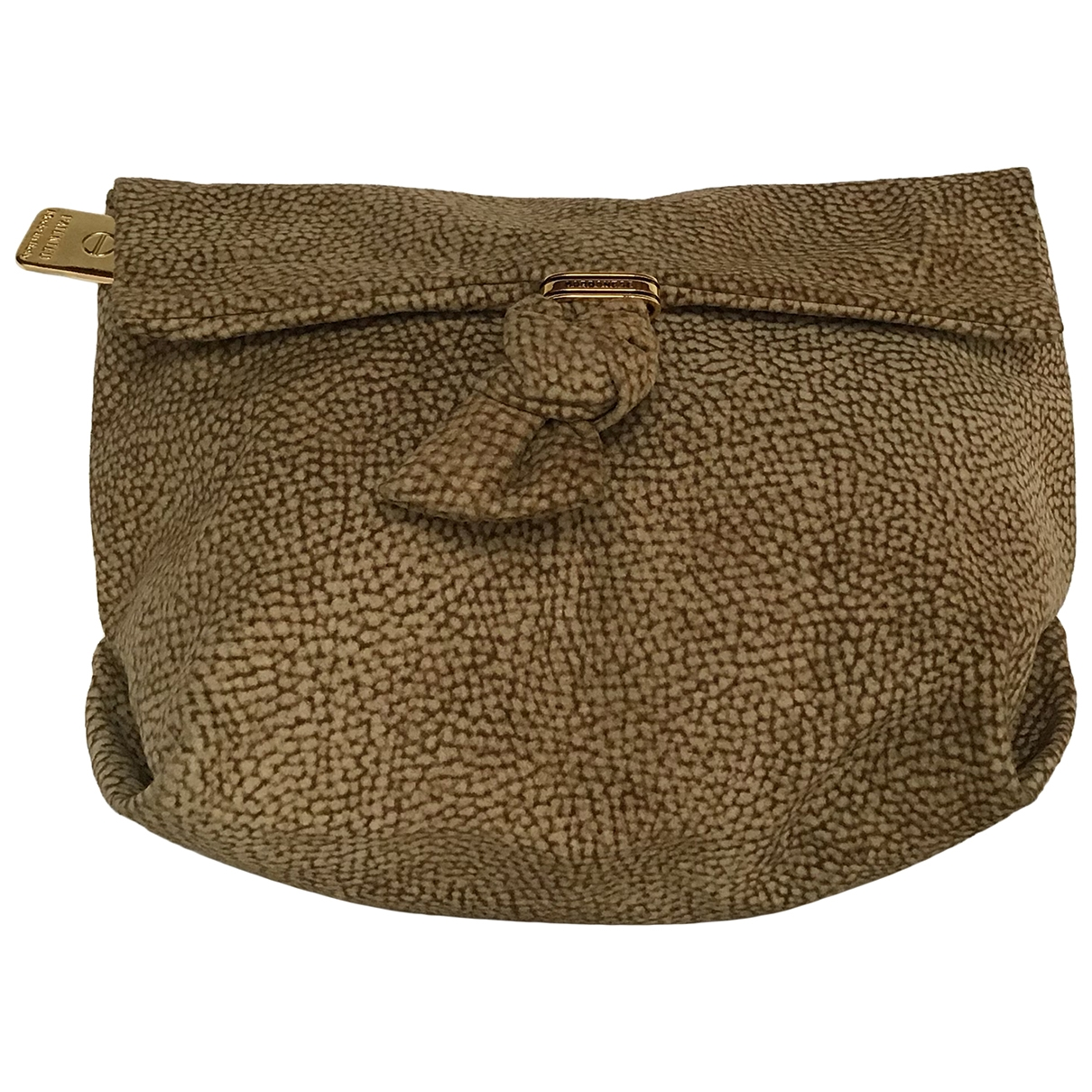 Non Signé / Unsigned \N Brown Suede Clutch bag for Women \N