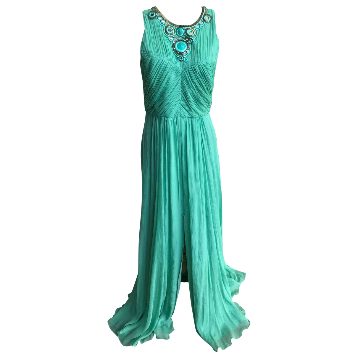 Matthew Williamson \N Green Silk dress for Women 12 UK