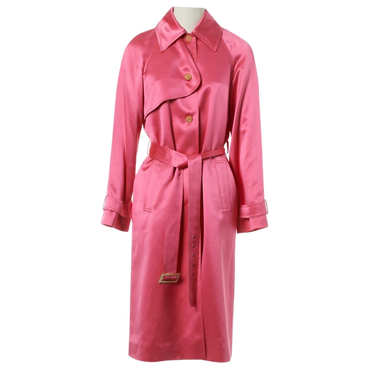 Celine - Veste   pour femme en soie - rose