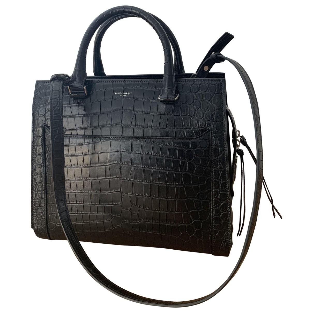 Saint Laurent East Side Black Leather handbag for Women \N