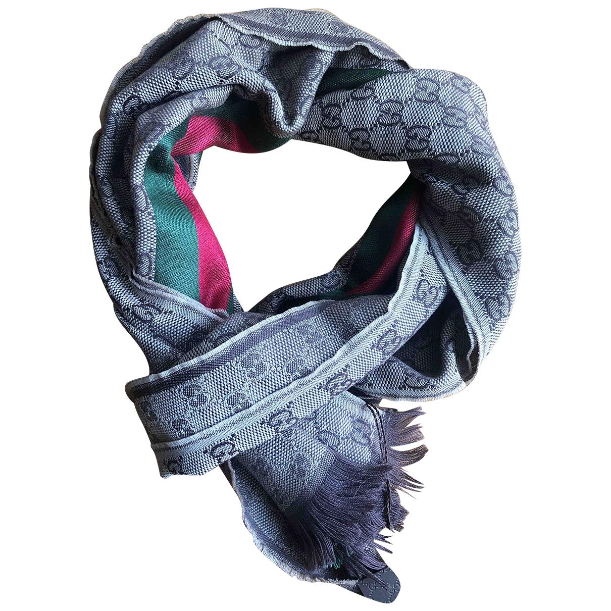 Gucci \N Beige Wool scarf & pocket squares for Men \N