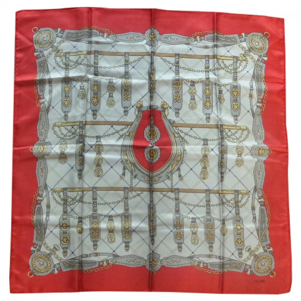 Celine - Foulard   pour femme en soie - multicolore