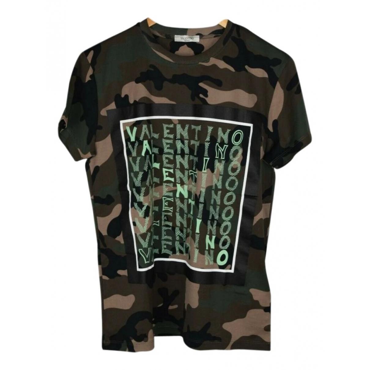 Valentino Garavani \N Green Cotton T-shirts for Men L International