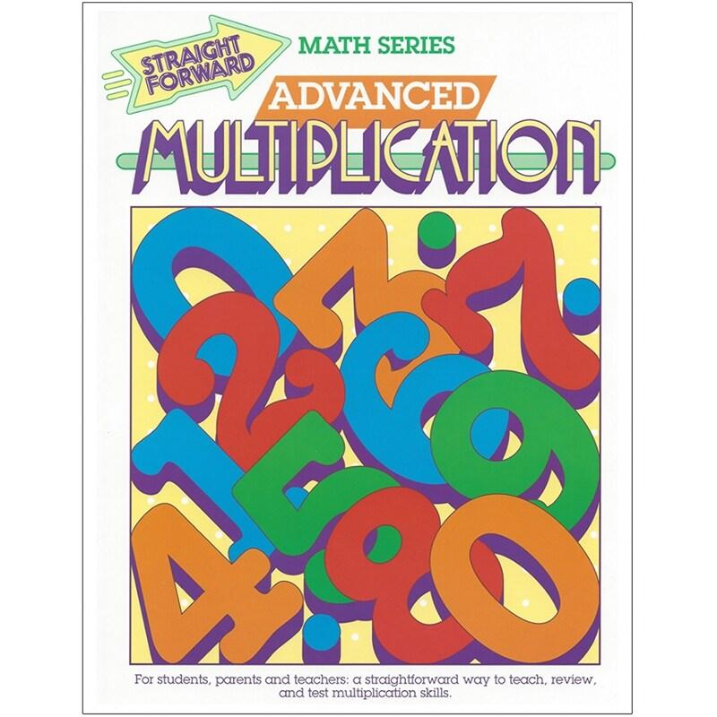 Remedia publications straight forward math adv multiplic gp017