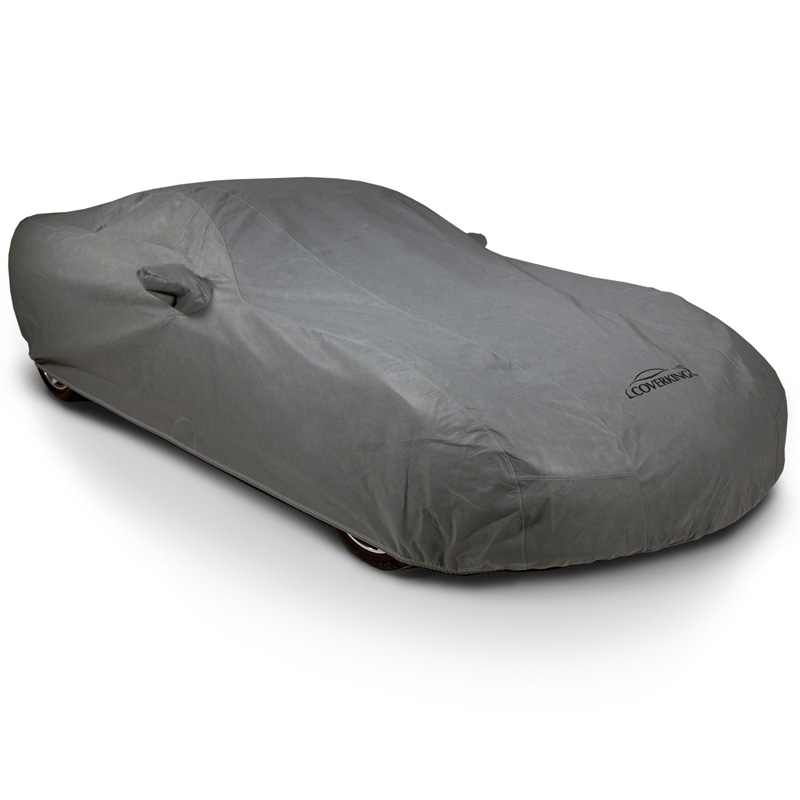 Coverking CVC3O2GCD9286 CVC3O2G Mosom Plus Grey Custom Car Cover Cadillac ATS 15-19