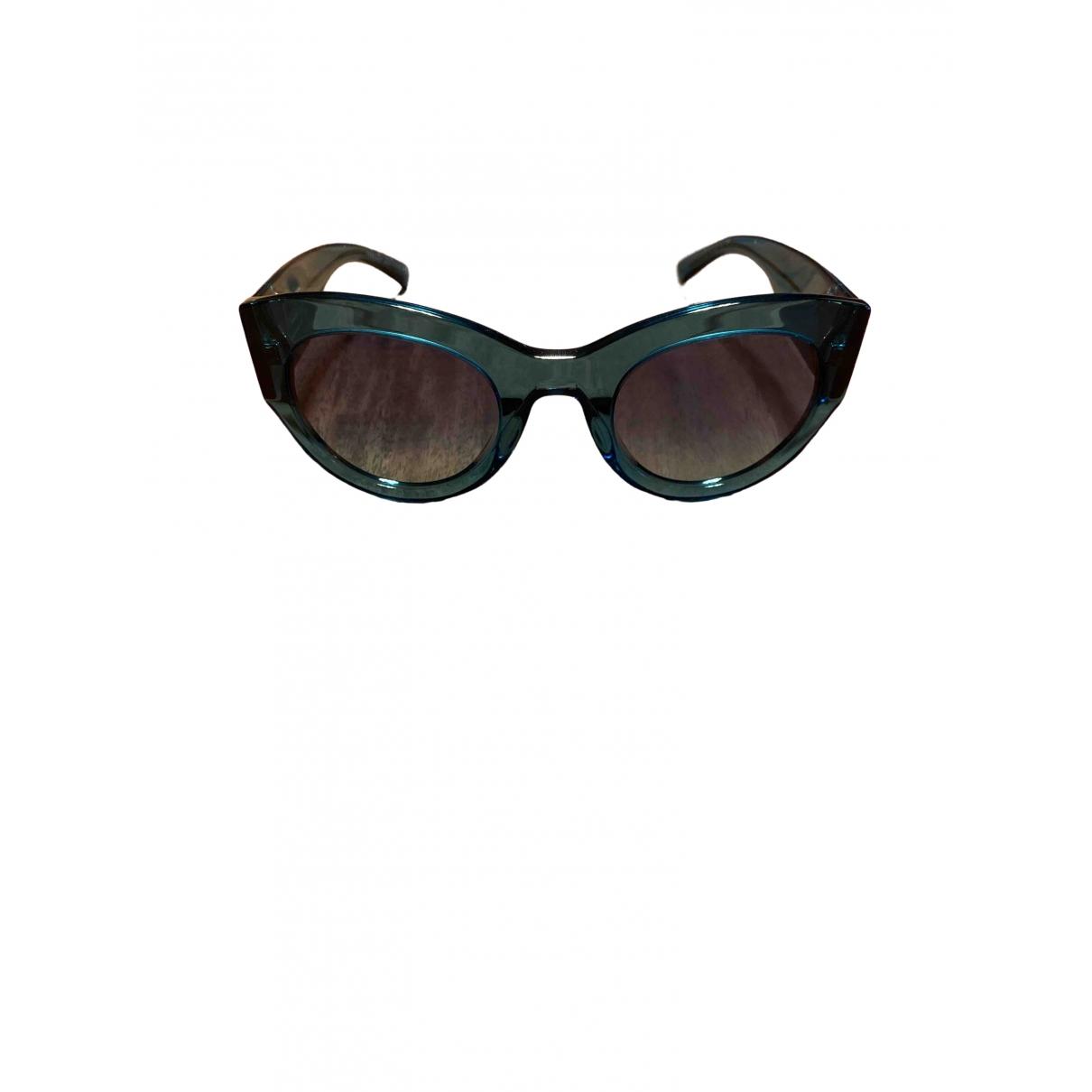 Versace - Lunettes   pour femme - turquoise