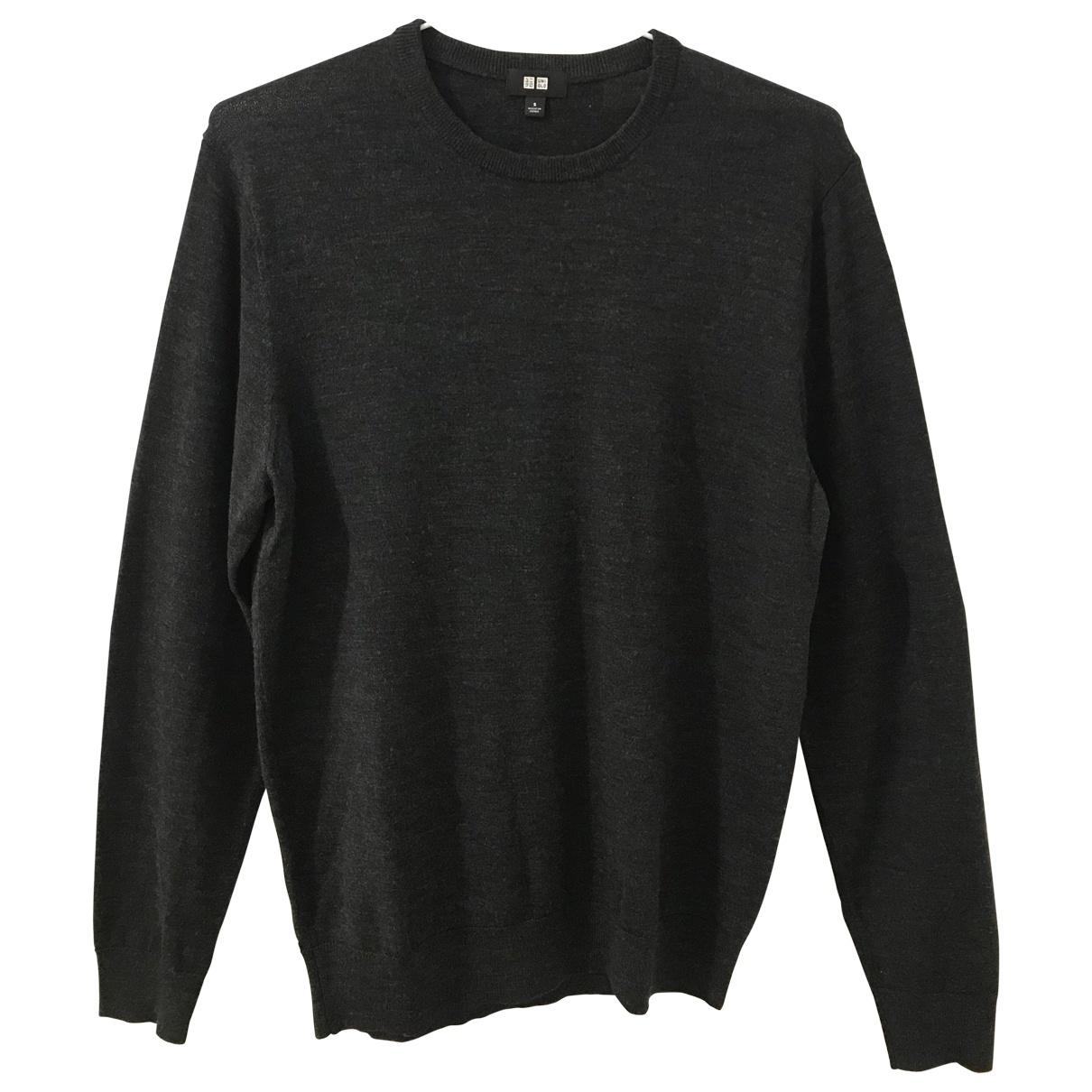 Uniqlo \N Black Wool Knitwear & Sweatshirts for Men S International