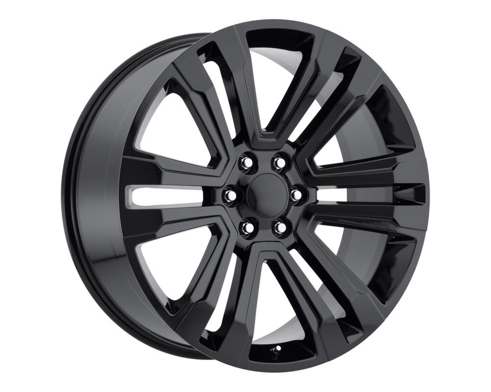 Replica Alloys DN2 241-6139-31 GB Denali Gloss Black Wheel 24x10 6x139.7 31