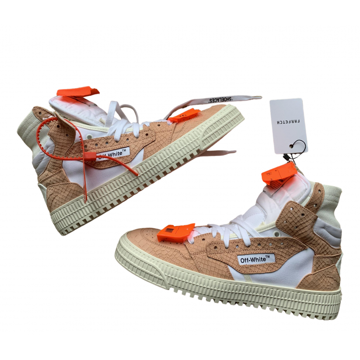 Off-white 3.0 Polo Leather Trainers for Men 41 EU