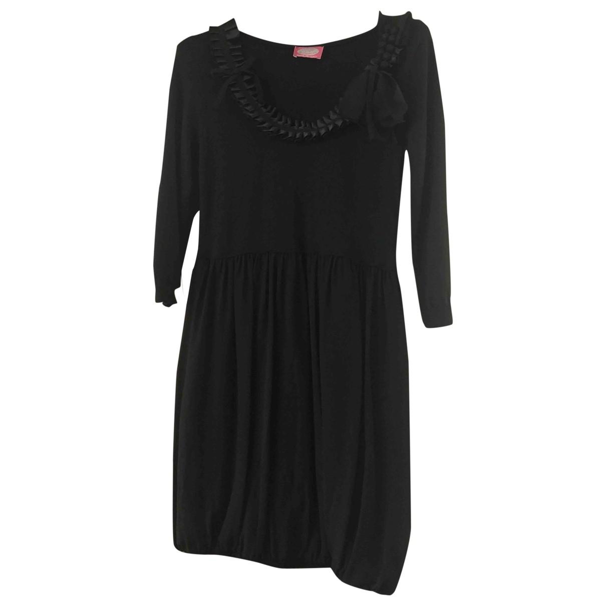 Blumarine \N Black Wool dress for Women 40 IT
