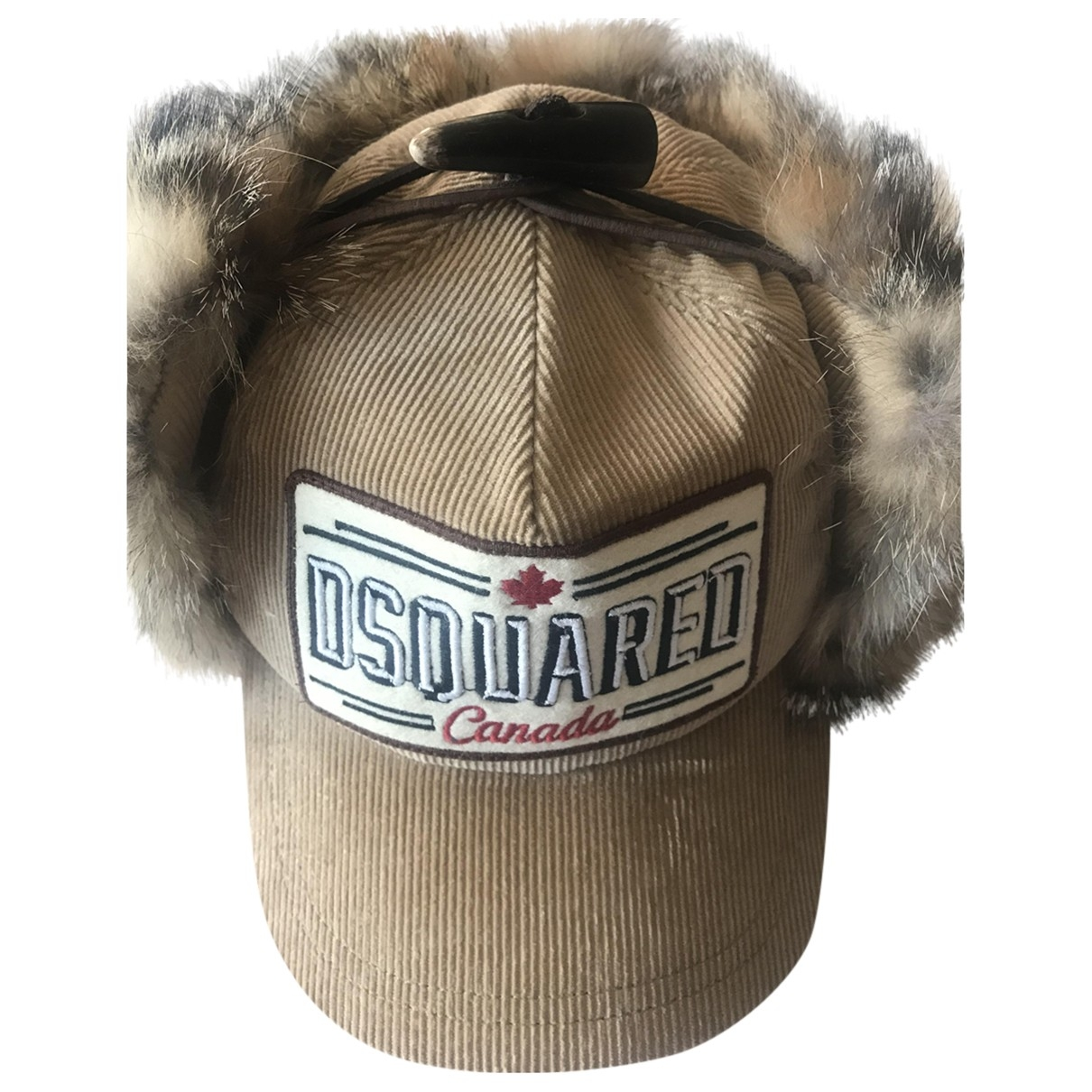 Dsquared2 \N Beige Cotton hat for Women 58 cm