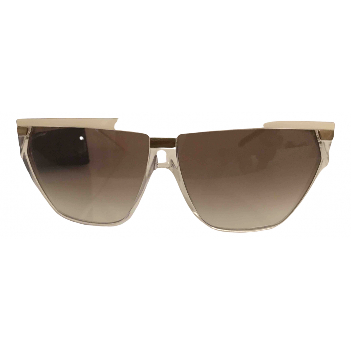 Gucci \N Ecru Sunglasses for Women \N