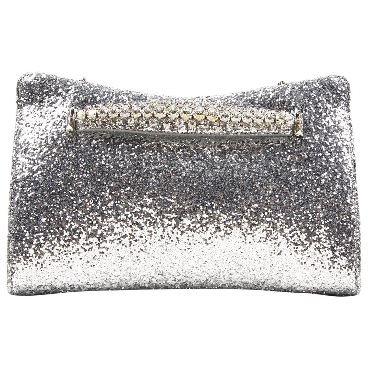 Jimmy Choo \N Silver Glitter handbag for Women \N