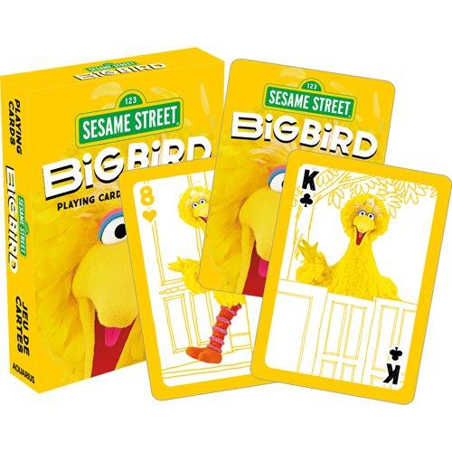 Sesame Street Big Bird Playing Cards
