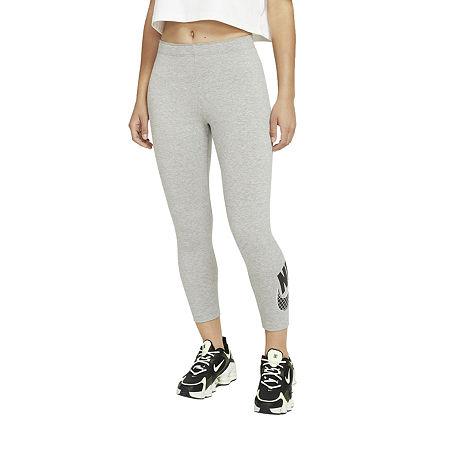 Nike Workout Capris, X-small , Gray
