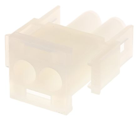 Molex , MLX, 42021, 2 Way, 1 Row, Straight Terminal Block Plug (10)