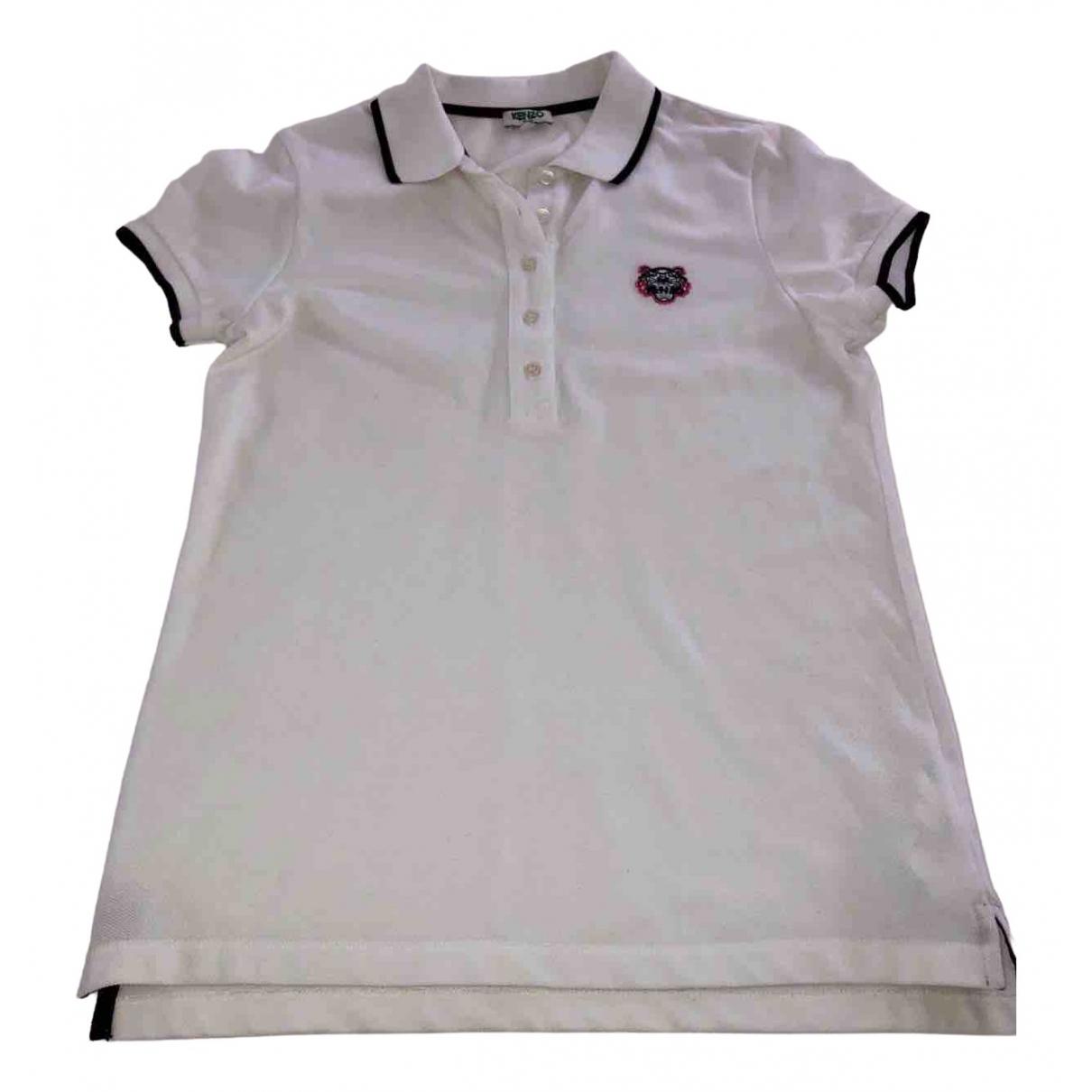 Kenzo \N White Cotton  top for Women S International