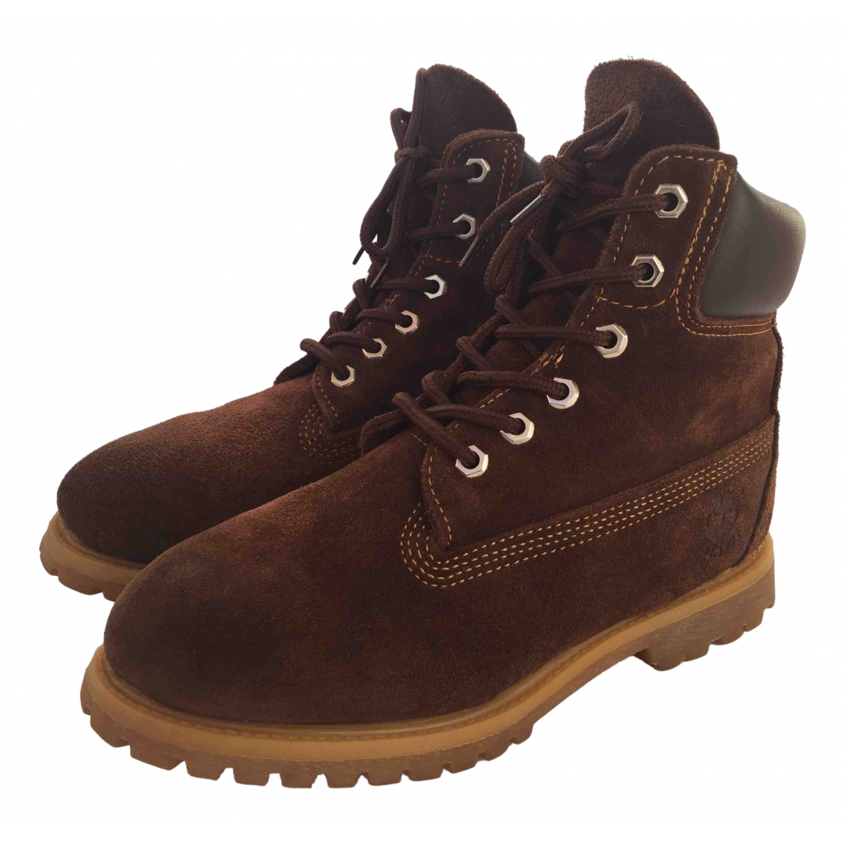 Timberland N Brown Suede Ankle boots for Women 6.5 US