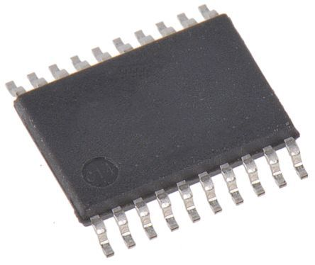 ON Semiconductor 74ACT245MTC, 1-Channel, Voltage Level Shifter, , 3-State, 20-Pin TSSOP (75)