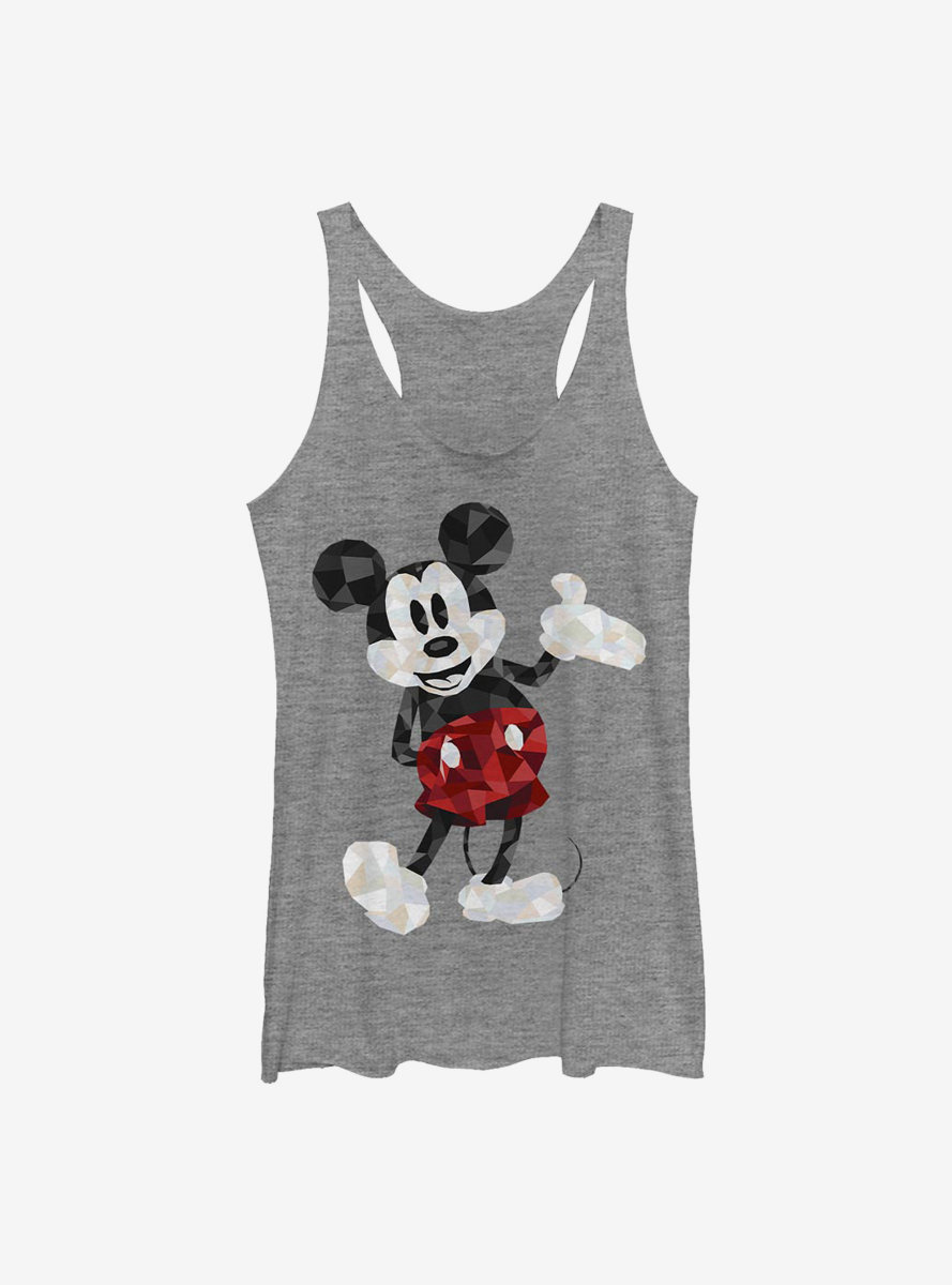 Disney Mickey Mouse Poly Womens Tank Top