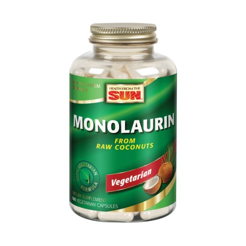 Monolaurin 180ct by Health From The Sun