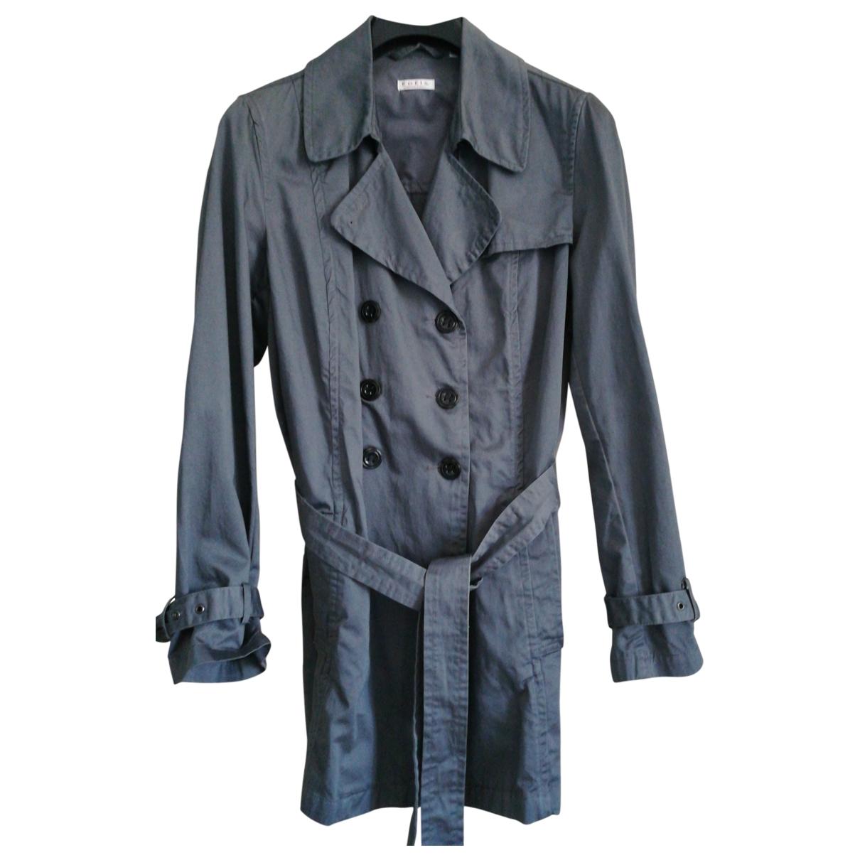 - Manteau Oversize pour femme en coton - gris