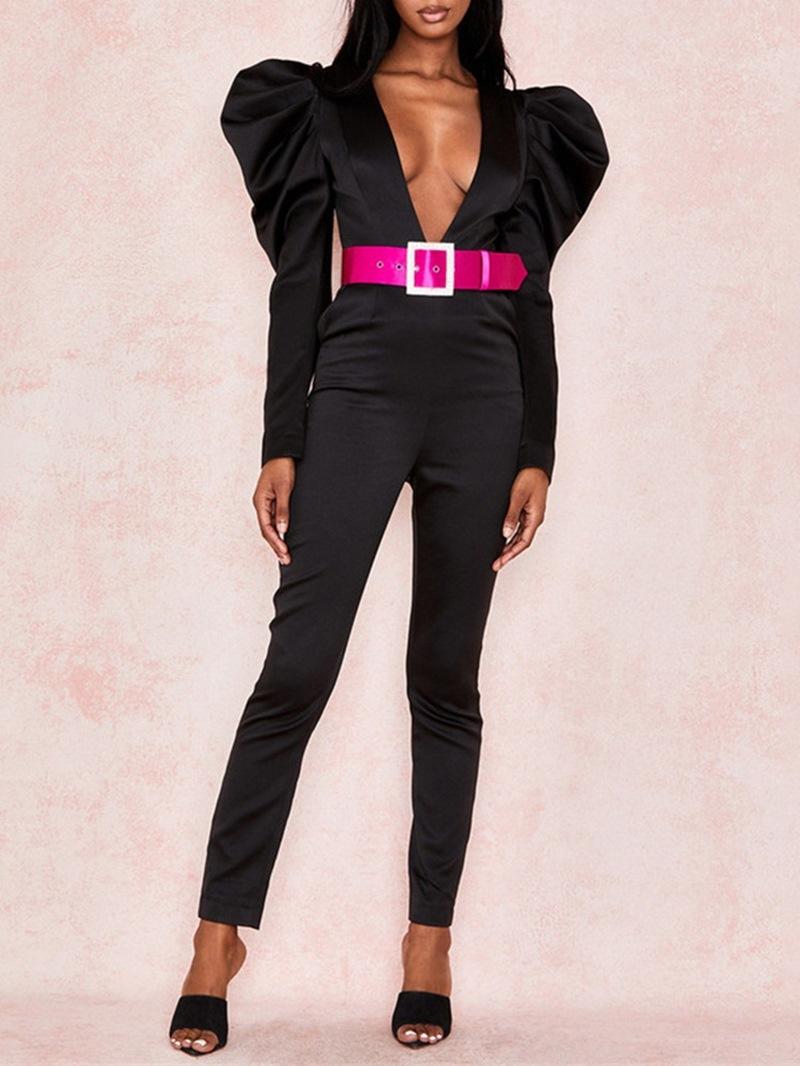 Ericdress Sexy Full Length High Waist Slim Jumpsuit