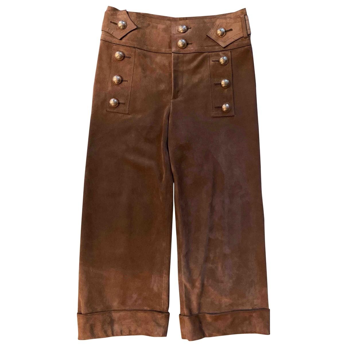 Pantalon largo Gucci