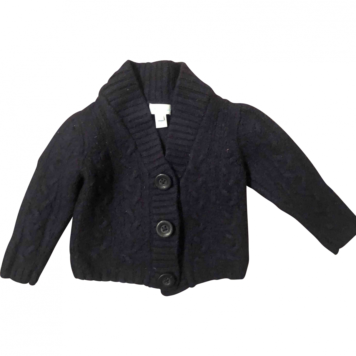 Non Signé / Unsigned \N Blue Wool Knitwear for Kids 3 months - up to 60cm FR