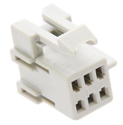 Delphi , Metri-Pack 150 Automotive Connector Socket 2 Row 6 Way, Crimp Termination, Grey (10)