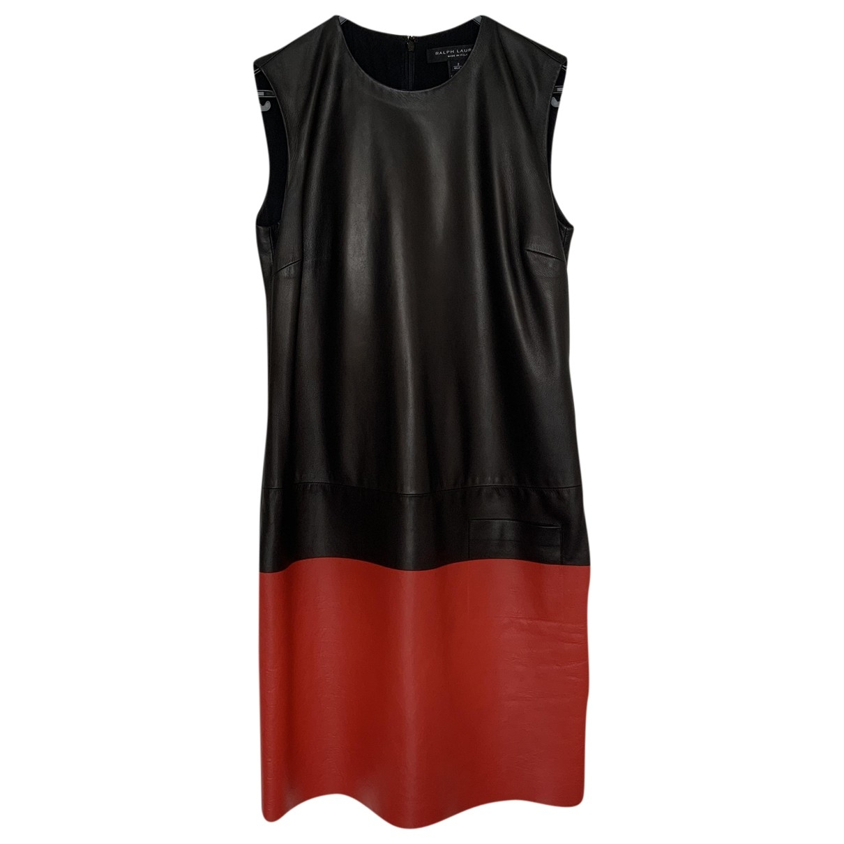 Mini vestido de Cuero Ralph Lauren Collection