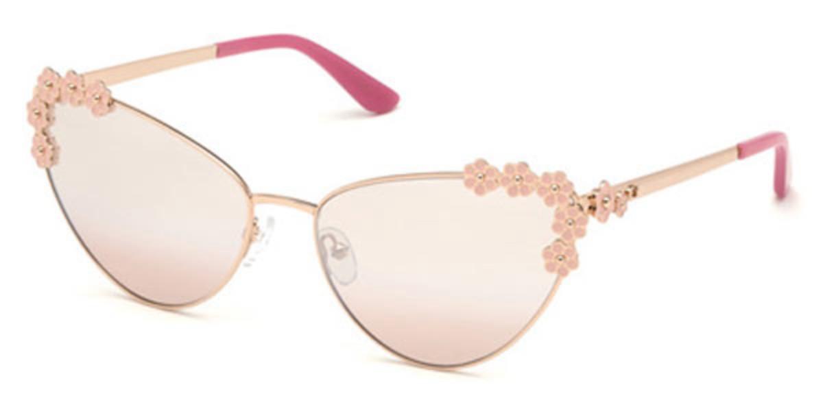 Guess GU 7588 28U Women's Sunglasses Pink Size 64