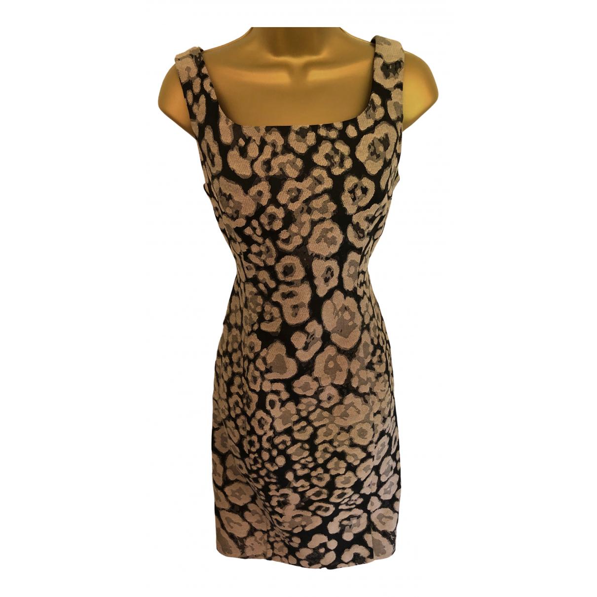 Armani Collezioni N Black Cotton dress for Women 40 IT