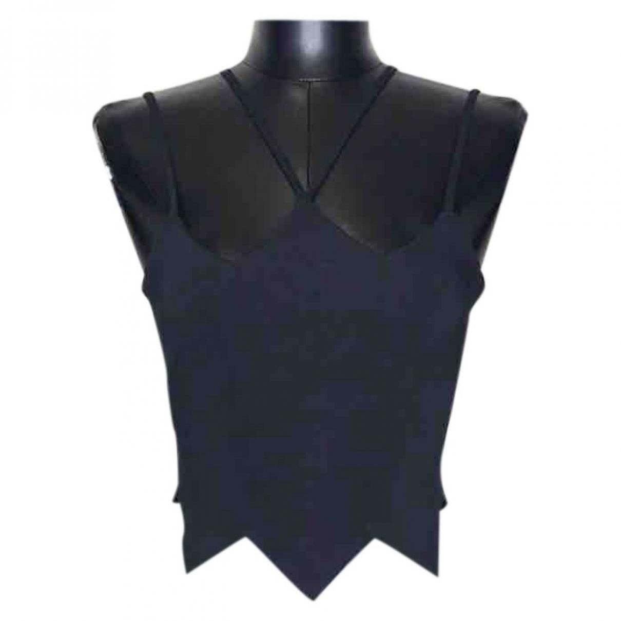 David Koma \N Black Silk  top for Women 8 UK