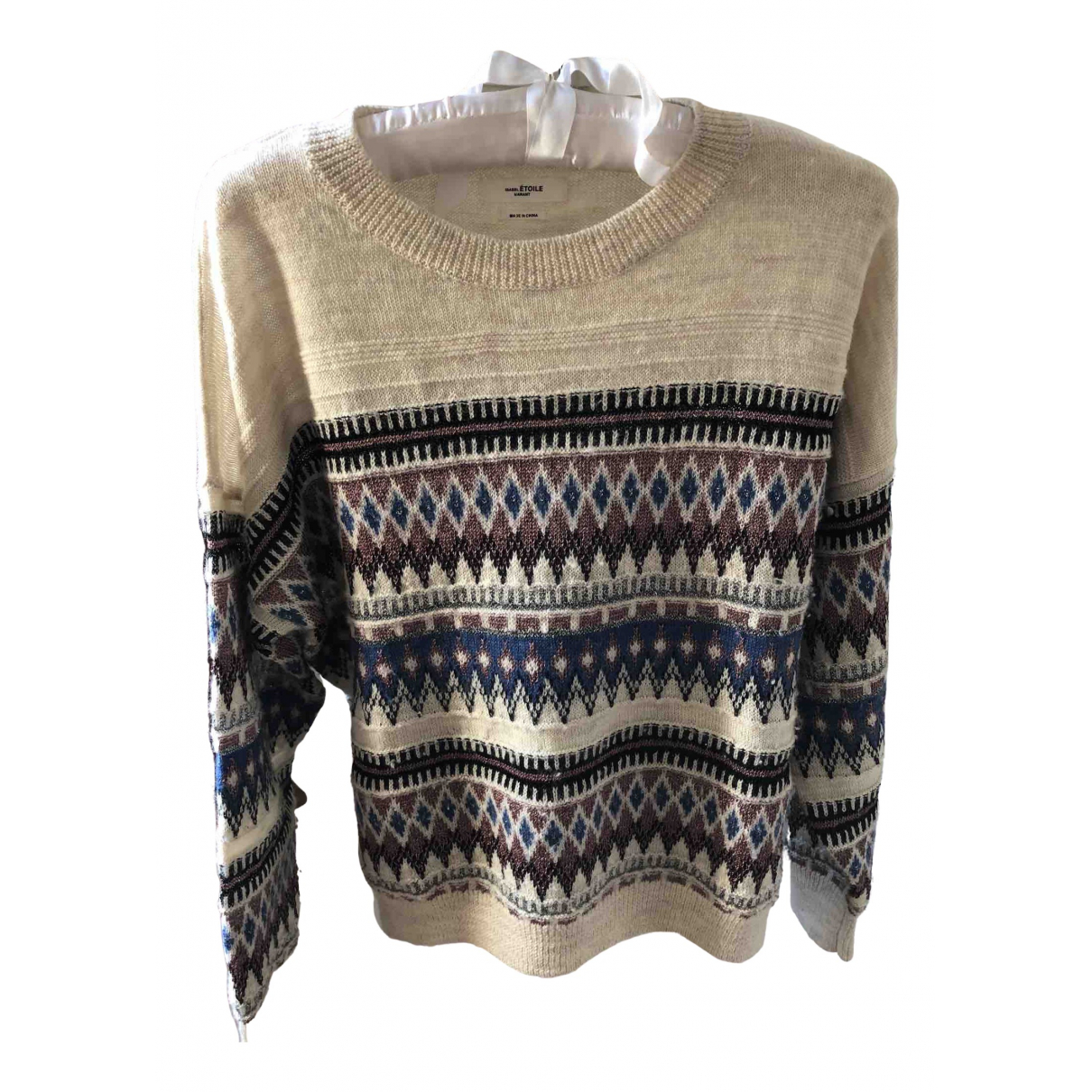 Isabel Marant Etoile \N Pullover in  Ecru Wolle