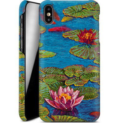 Apple iPhone XS Max Smartphone Huelle - Will Cormier - Six Koi in Lilly Pond von TATE and CO
