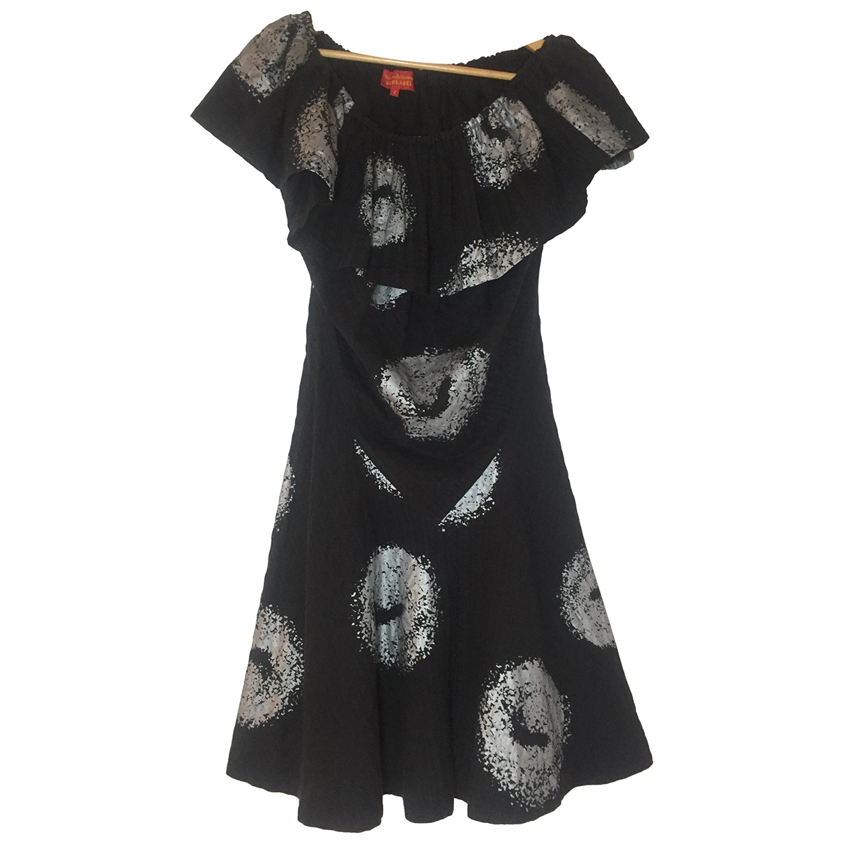 Vivienne Westwood Red Label \N Black Cotton dress for Women 2 0-5